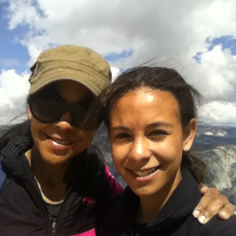 zoe and mom yosemite